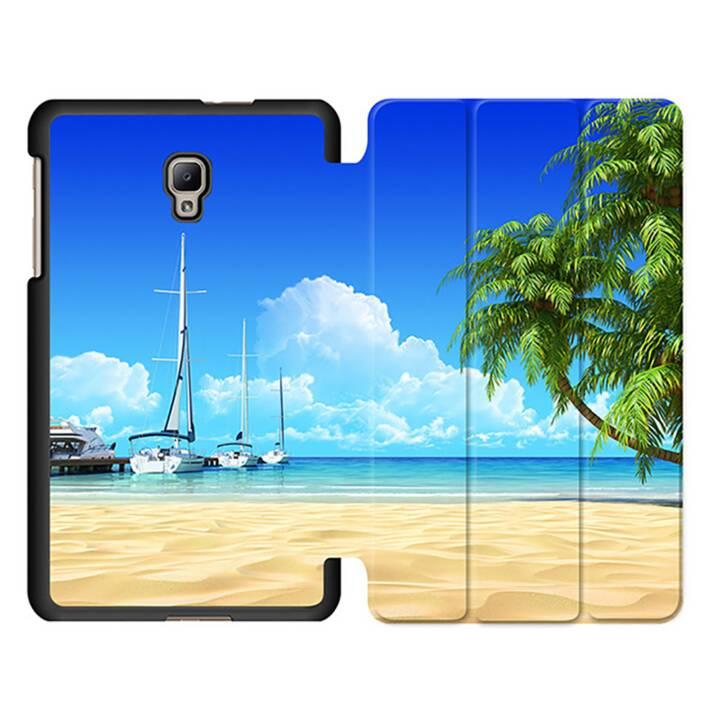 "EG MTT Tablet Bag con coperchio pieghevole Smart per Samsung Galaxy Tab A 8 ""Tablet - Beach"