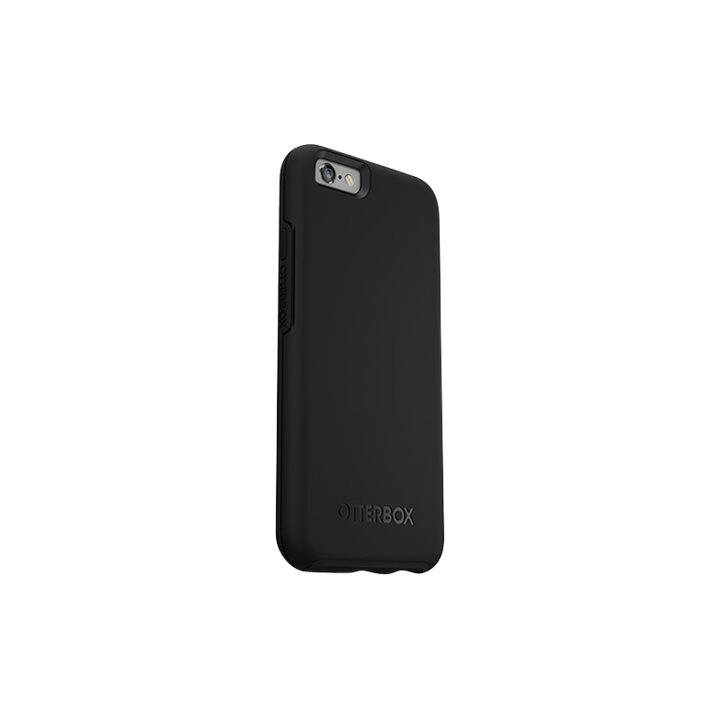 OTTERBOX Backcover Symmetry (iPhone 6, iPhone 6s, Schwarz)