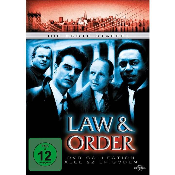 Law & order Stagione 1 (DE, FR, EN)