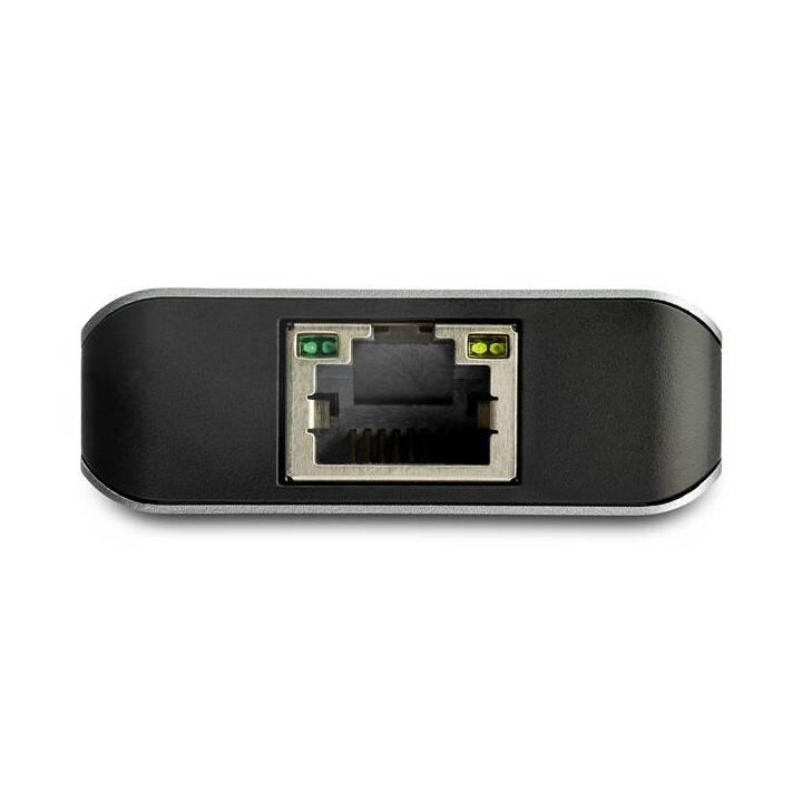 STARTECH.COM HB31C2A1CGB (4 Ports, USB Typ-A, USB Typ-C)