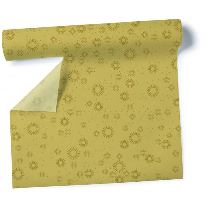 PAPER + DESIGN Chemin de table Moments (40 cm, Rectangulaire, Doré)