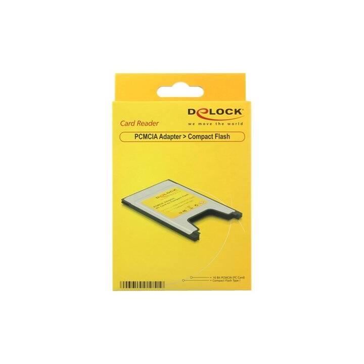 DELOCK Card Reader Extern Compact Flash 91051
