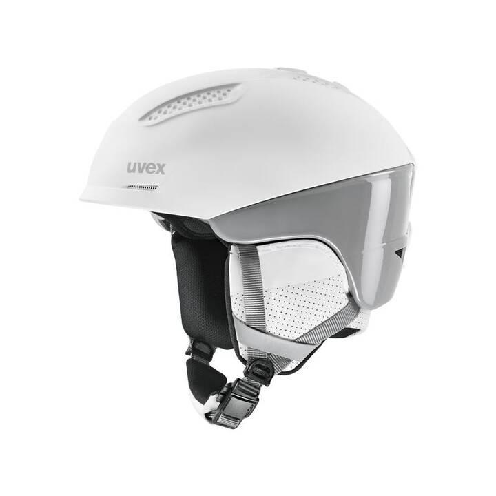 UVEX Skihelm Helm ultra pro (S, Grau, Weiss)