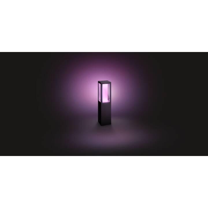 PHILIPS HUE Impress Sockelleuchte Erweiterung (LED, 220-240V, 8 W, Schwarz)