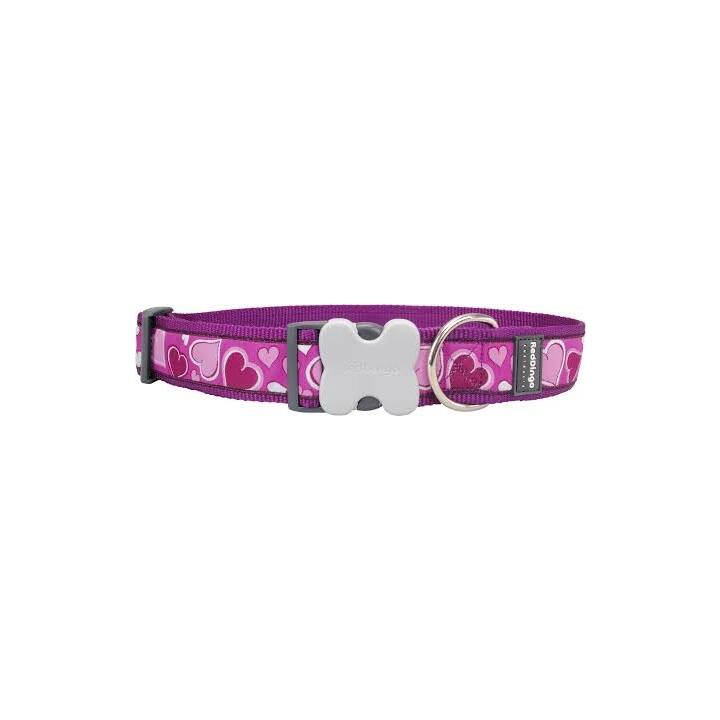 RED DINGO Halsband Breezy Love (Sehr gross, Violett)