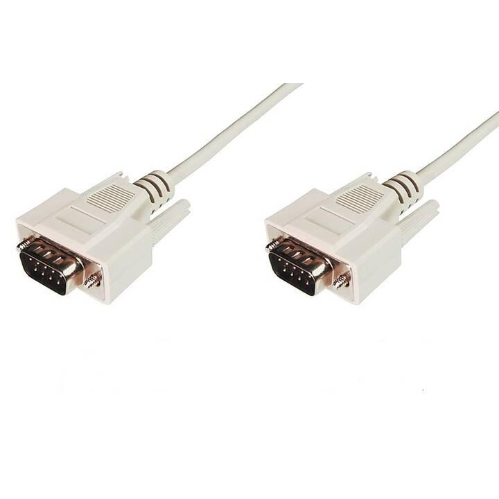ASSMANN Câble de connexion (D-Sub (9-polig), D-Sub (9-pôles), 3 m)