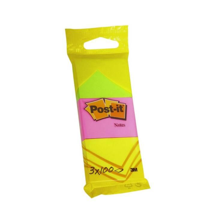 3M Post-it farbig 38 x 51 mm