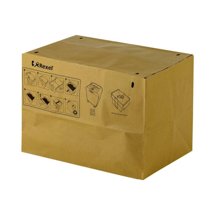 Rexel recycelbare Abfallsäcke 50Liter 50