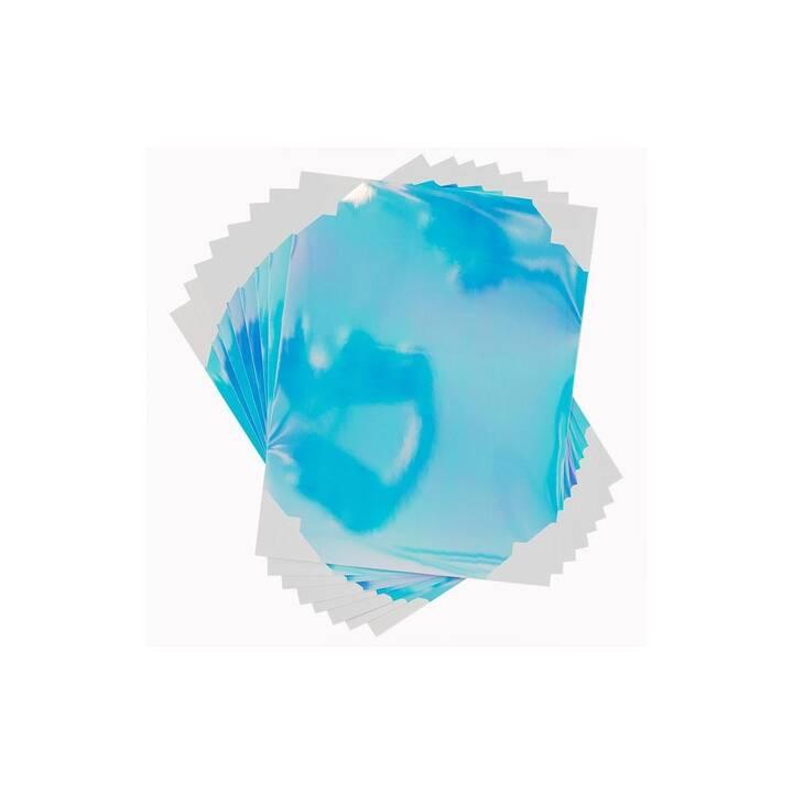 SILHOUETTE Papier spécial (Bleu clair, Pourpre, Bleu, A4)