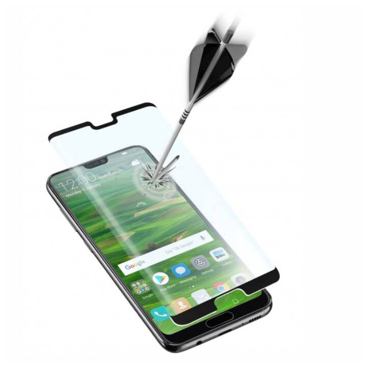 CELLULAR LINE Displayschutzglas Second Glass Ultra Capsule Huawei P20 (Klar)