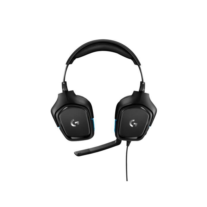 LOGITECH G432 (Over-Ear, Nero)