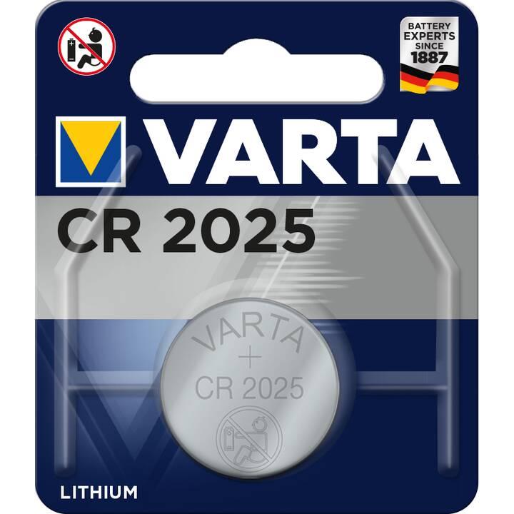 VARTA Batterie (CR2025, 1 pièce)