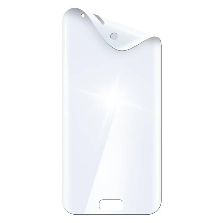 HAMA Displayschutzfolie Prime Full Screen Curved (Klar, Samsung Galaxy S9)