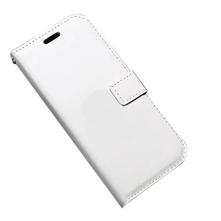 EG Mornrise Custodia a portafoglio per Huawei Honor 10 - bianca