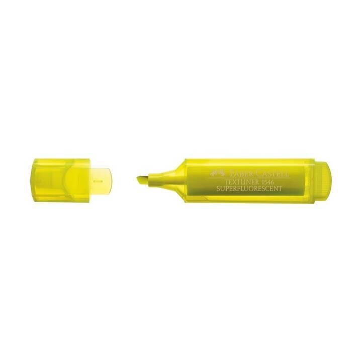 FABER-CASTELL TEXTLINER 1546 Meißel/feine Spitze Gelb 1Stück(e) Marker