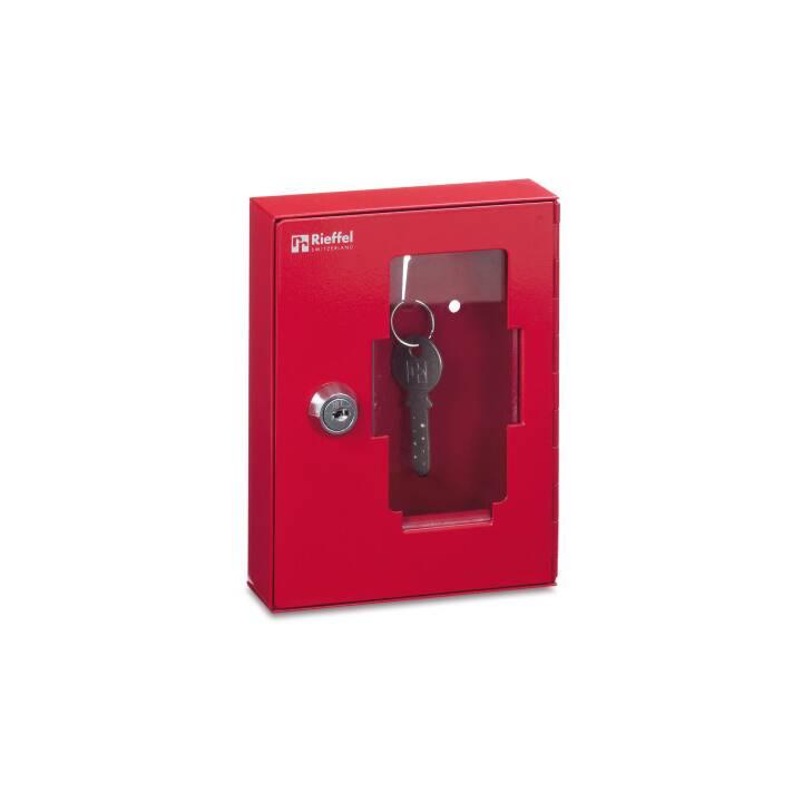Cassetta delle chiavi di emergenza RIEFFEL, rosso