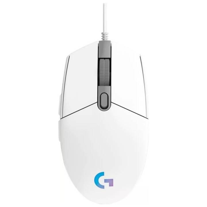 LOGITECH Gaming Mouse G203 LIGHTSYNC Topo (Cavo, Gaming)