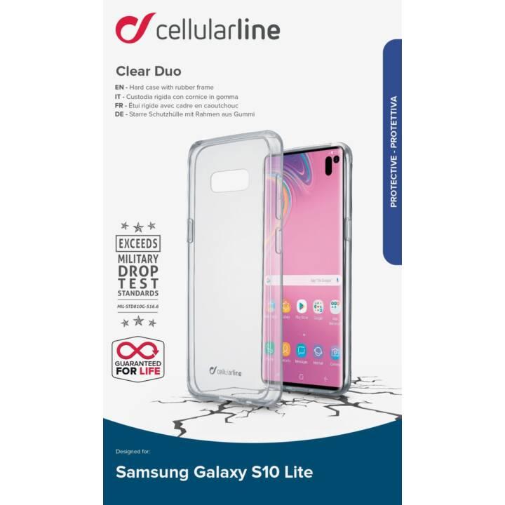 CELLULAR LINE Coque rigide Fine  (Galaxy S10 E, Transparent)