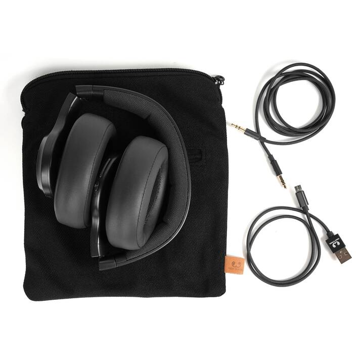 FRESH 'N REBEL R Clam (Over-Ear, Bluetooth, Schwarz)