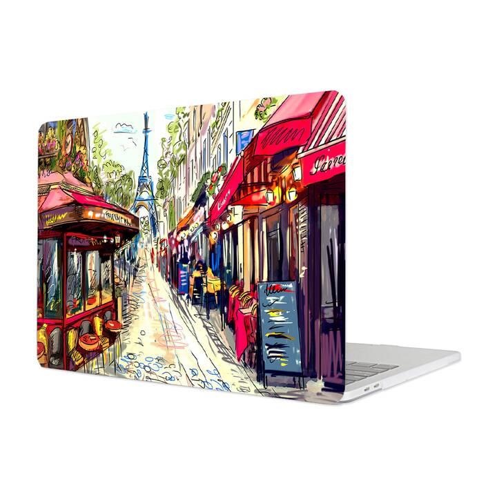 "EG MTT Housse pour Macbook Pro 13"" Not Touchbar (2016 - 2018) - Sketch Paris"