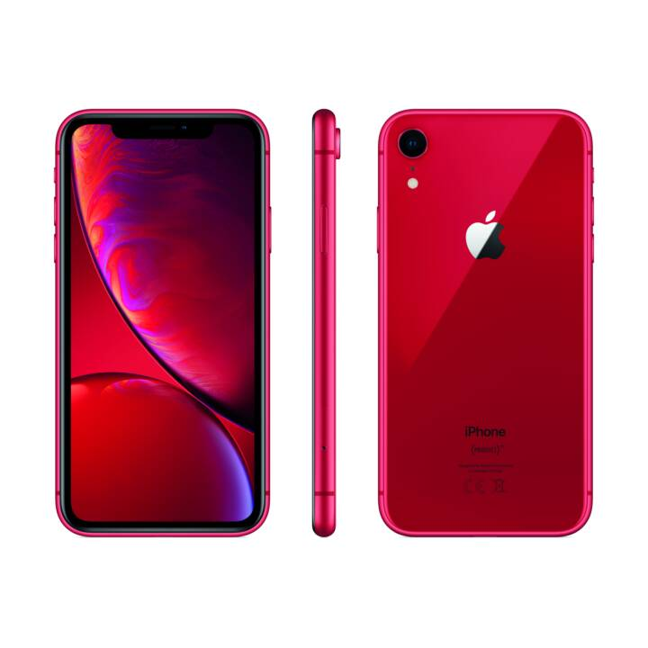 """APPLE iPhone XR (6.1"""", 128 GB, 12 MP, Rouge)"""
