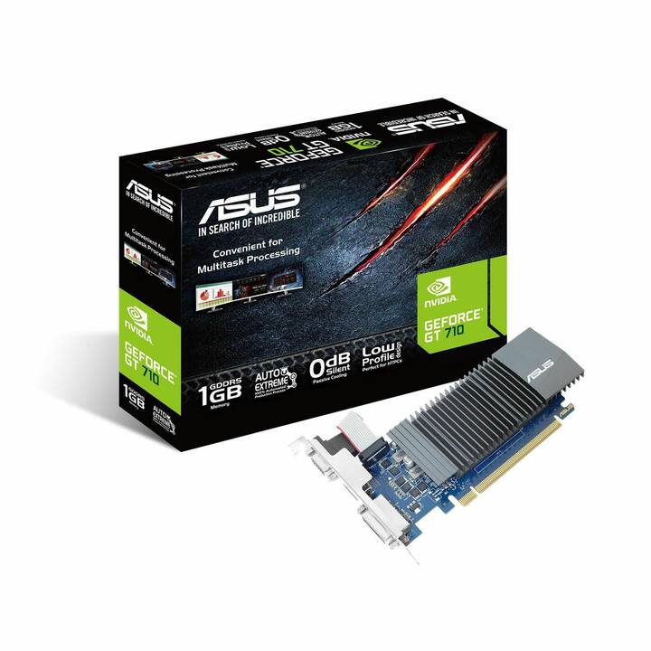 ASUS GT710-SL-1GD5 Nvidia GeForce GeForce GT 710 (1 GB, Gaming)