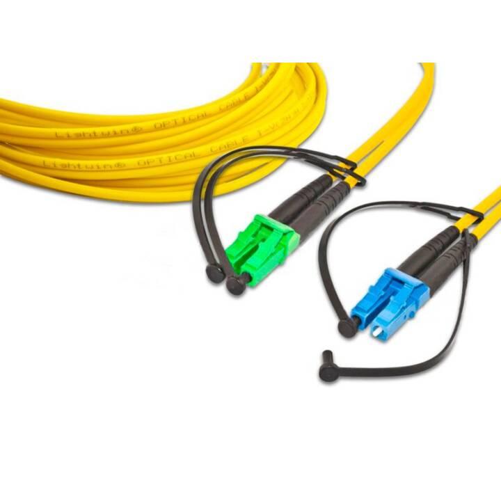 LIGHTWIN Singlemode Câble réseau (FC-Duplex, LC-Simplex, 10 m)