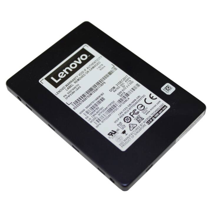 Lenovo ThinkSystem 5200 Entry - SSD - 960 GB - SATA 6Gb/s