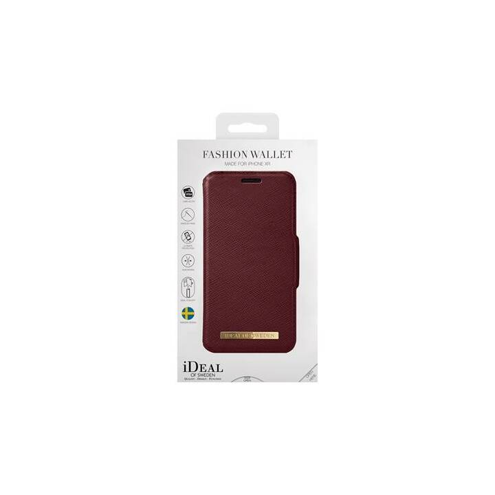 IDEAL OF SWEDEN Flipcover Fashion Wallet burgundy (iPhone XR, Rot)