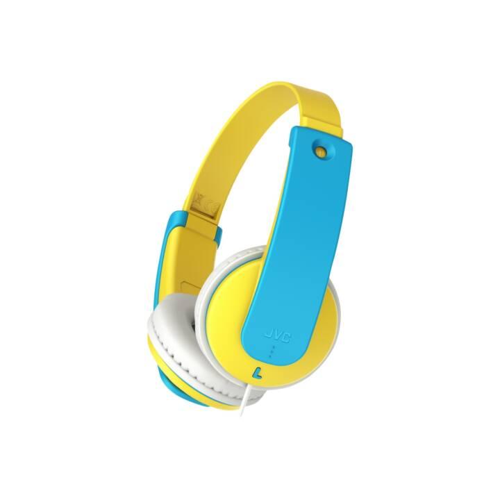 JVC Tinyphones HA-KD7 Blue/Yellow