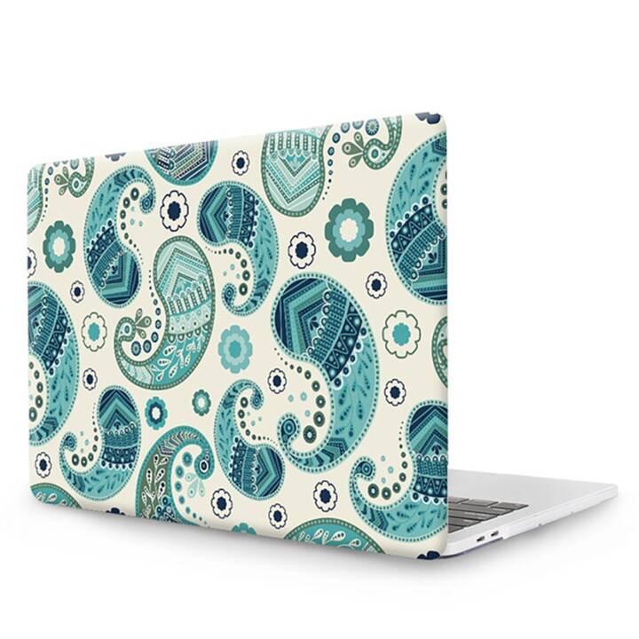 """EG MTT Copertina per computer portatile con tastiera, protezione antipolvere, penna a sfera per MacBook Pro 15"""" CD ROM - Etnica"""
