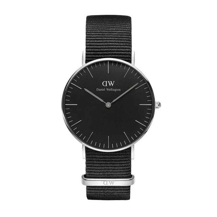 DANIEL WELLINGTON Classic Black (36 mm, Montre analogique, Quartz)
