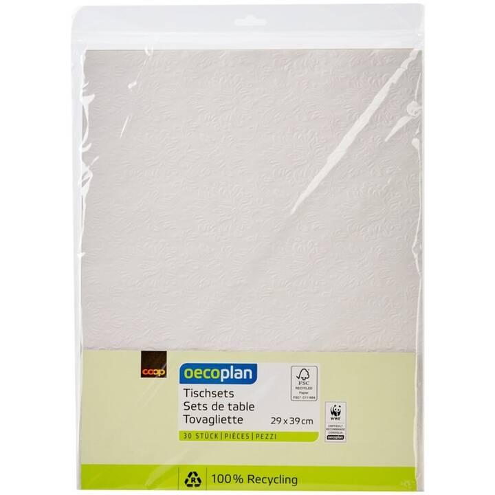 OECOPLAN Tischset FSC 30 (30 Stk, Papier, Weiss)
