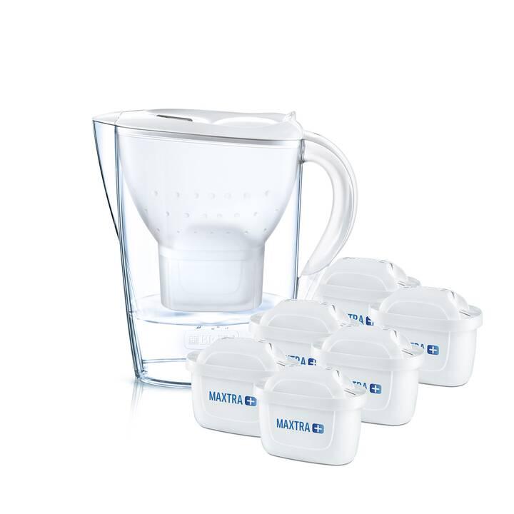 BRITA Filtro acqua da tavola Marella bianco