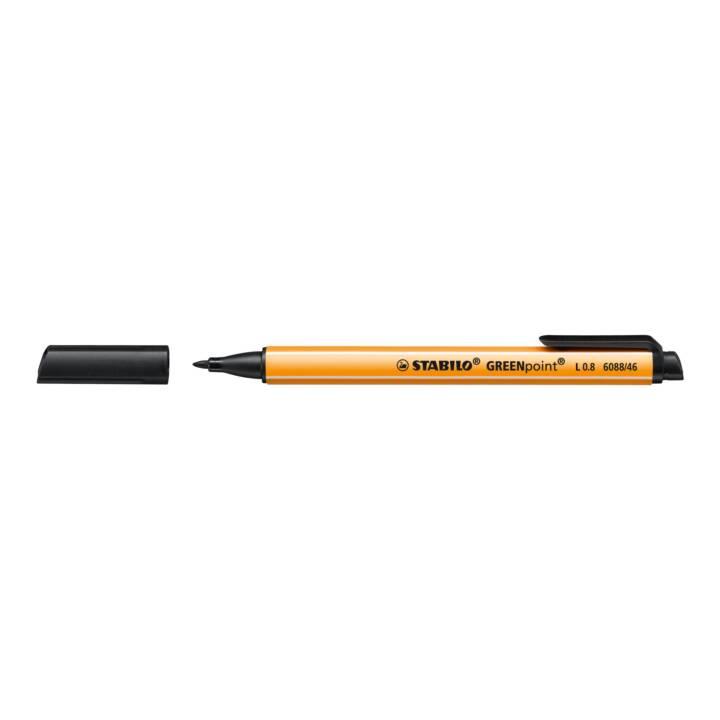 STABILO Faserschreiber point 0,8mm schwarz