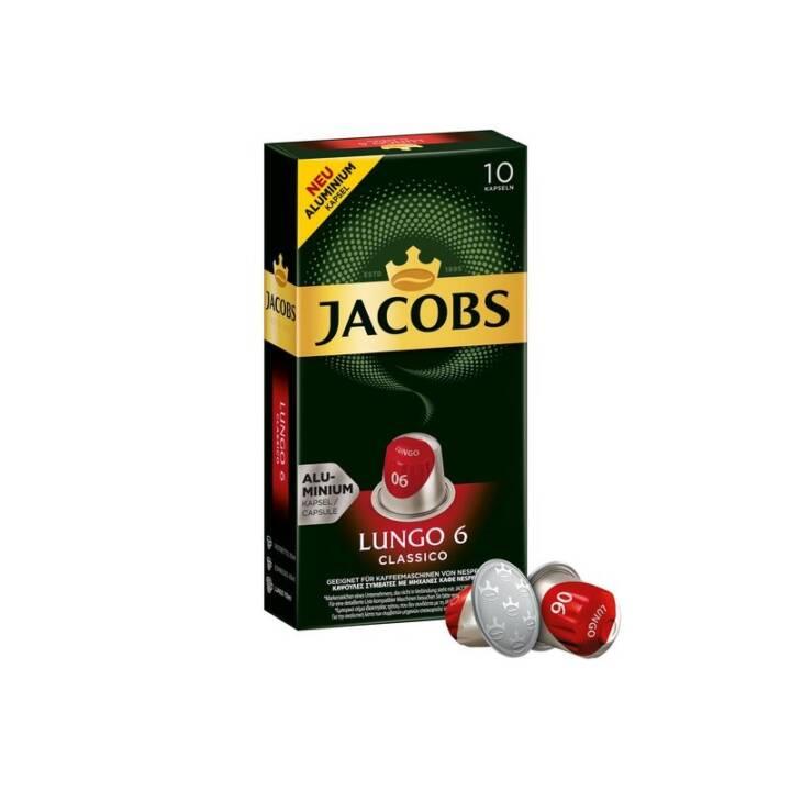 JACOBS Kaffeekapseln Espresso Lungo Classico (10 Stück)