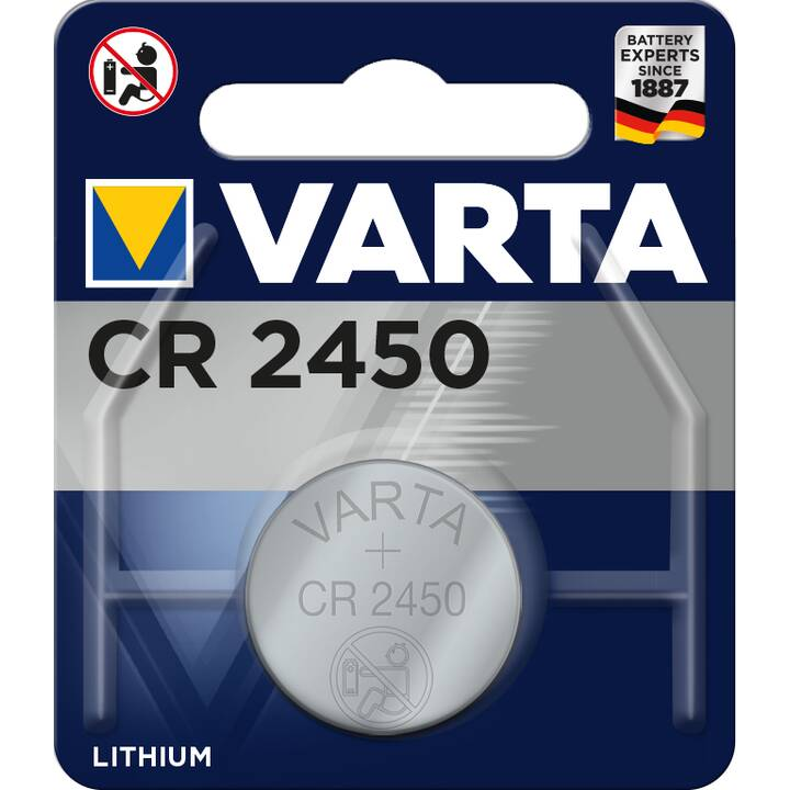 VARTA Batteria (Universale, CR2450, 1 pezzo)