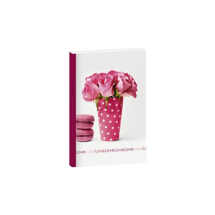 CLAIREFONTAINE Notizbuch Rosalie (A6, Liniert)