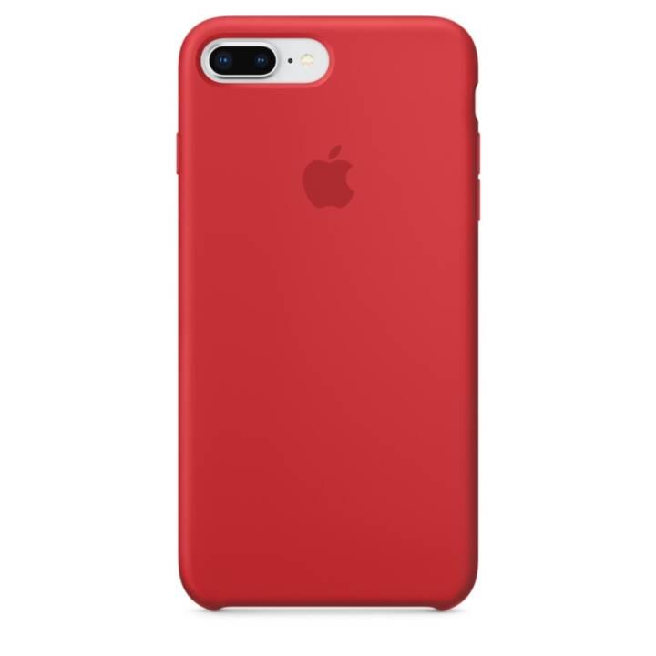 Apple iPhone 8 Plus / 7 Plus étui en silicone (PRODUIT)ROUGE