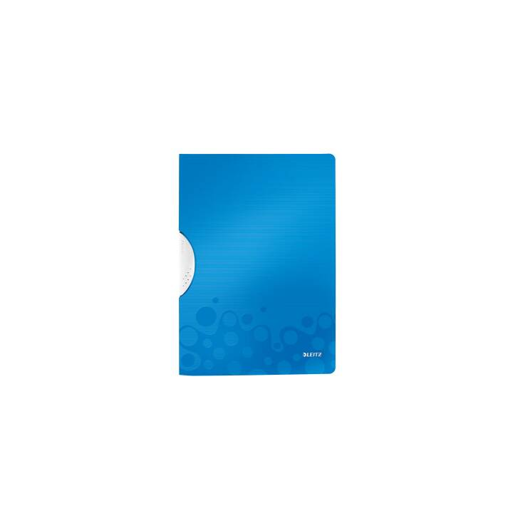 Agrafeuse à clip LEITZ WOW Color Clip 4A bleu