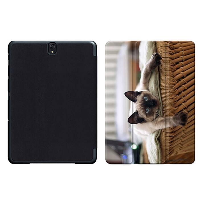"""EG MTT Sacoche pour tablette avec housse pliable Smart pour Samsung Galaxy Tab S3 9.7"""" MTT - Cat"""