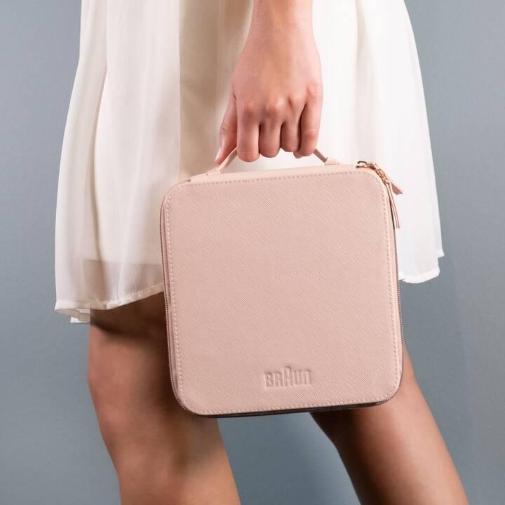 BRAUN Pouch for Silk-épil 9 Beauty case (Rosa, Cioccolato)
