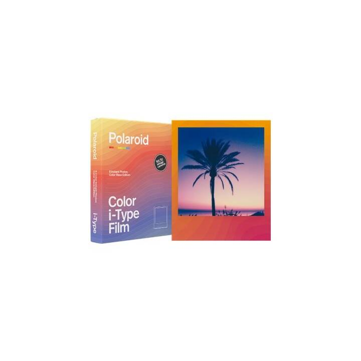 POLAROID Color Film Color Wave Edition Pellicola istantanea (Polaroid 600)