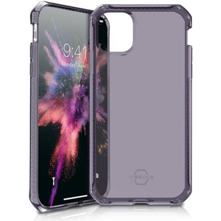ITSKINS Backcover TPU (iPhone 11, Violett, Transparent)