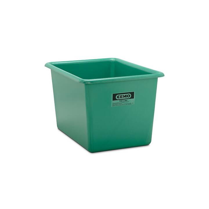 Großbehälter aus GfK, Inhalt 700 l,