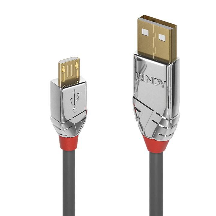LINDY USB-A/Micro-B, 2 m