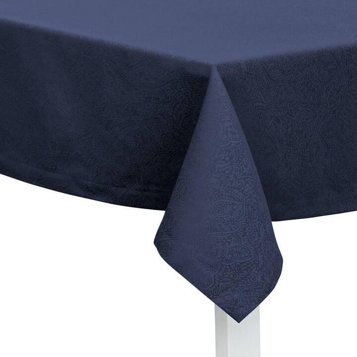 PICHLER Nappe Beverly (130 cm x 170 cm, Rectangulaire, Bleu foncé)