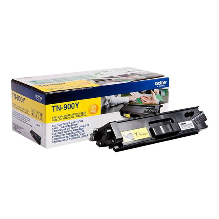 BROTHER TN-900Y (Cartouche individuelle, Jaune)