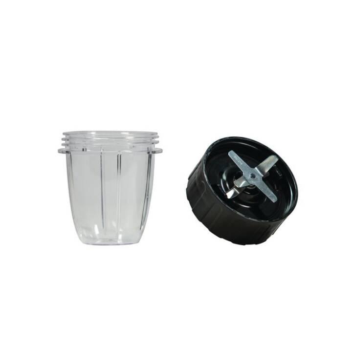 NUTRIBULLET VeggieBullet Accessoires pour blenders (Transparent, Noir)