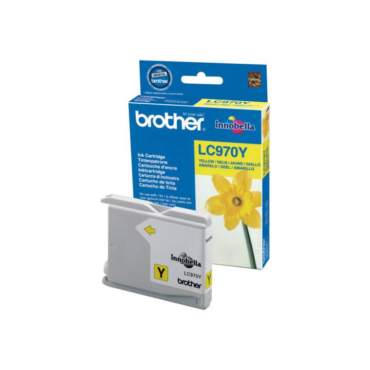 BROTHER LC970Y (Giallo, 1 pezzo)